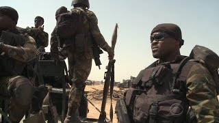 U.S. troops help Cameroon army militants