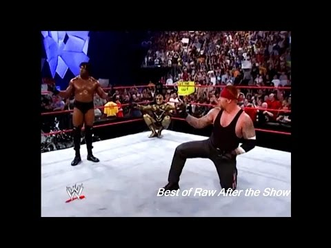 The Undertaker Trying To Do Booker T Spinaroonie & Mr Macmahon ,The Rock ,Triple H Full Segment