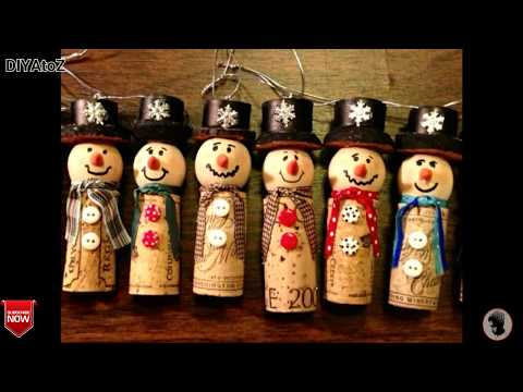 60 DIY Pictures for Christmas Ornaments ideas from Wood-Best Homemade Wooden Ornaments for Christmas