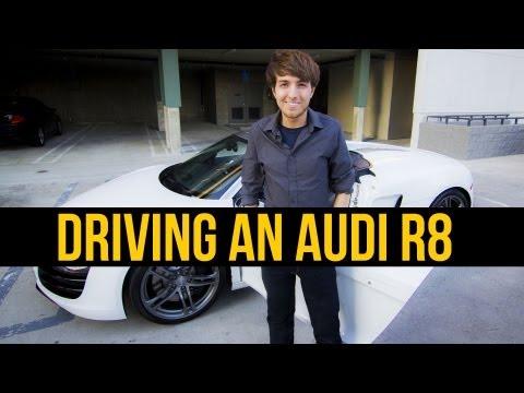 A $200,000 AUDI R8 TEST DRIVE // Kaleb Nation