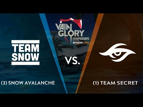 SNOW Avalanche vs Team Secret - Final | Vainglory Summer Championship Europe 2016