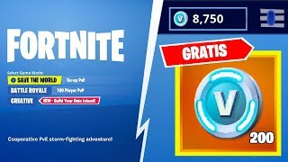 200 FREE PAVOS IN FORTNITE FUSION ACCOUNTS!