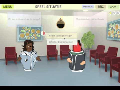 Radboudumc ABC game omgaan met agressie