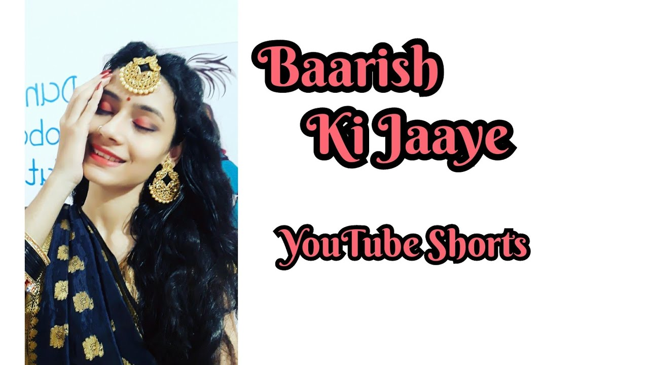 Baarish Ki Jaaye   #Shorts #ytshorts   Amisha Modha Choreography