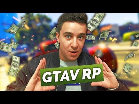GTAV RP #1 | LES DÉBUTS DU RP SUR GTA 5!