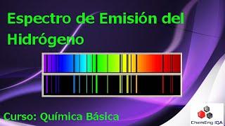 Espectro de Emisión del Hidrógeno // QB151
