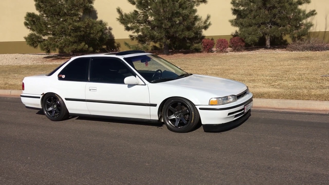 1992 honda accord ex r youtube 1992 honda accord ex r sciox Image collections