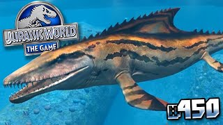 Mosasaur Gen 2 Is Coming !!! || Jurassic World - The Game - Ep 450 HD
