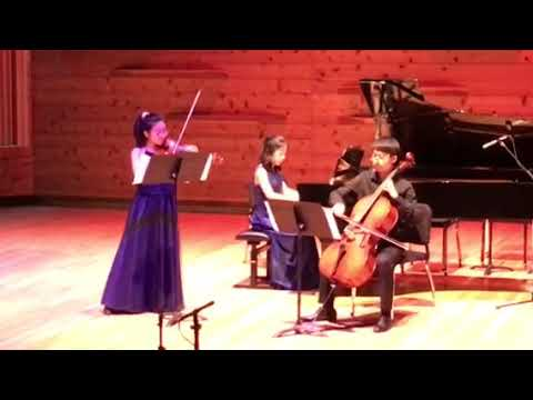 Tenafly Trio for Chamber Music of Lincoln Center Semi-Final