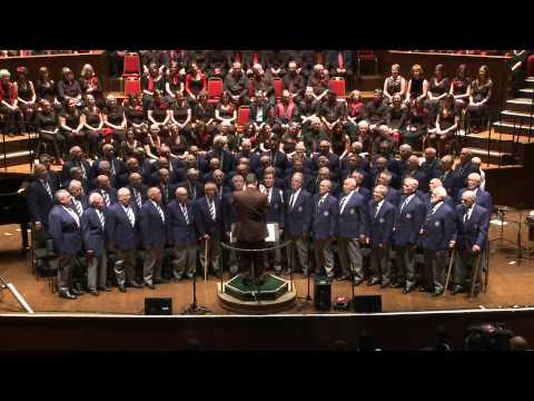 Hallelujah.mp4 Bristol Male Voice Choir, Gurt Winter Concert 2012, The Colston Hall