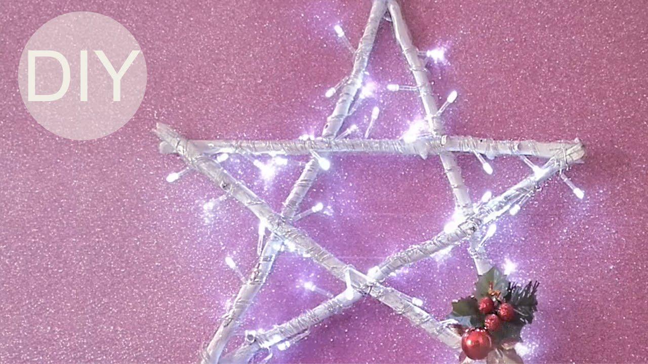 Manualidades para Navidad ESTRELLA LUMINOSA Innova