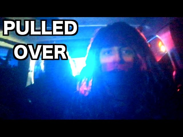 ALL THE COPS KNOW US!!! *Pulled Over*