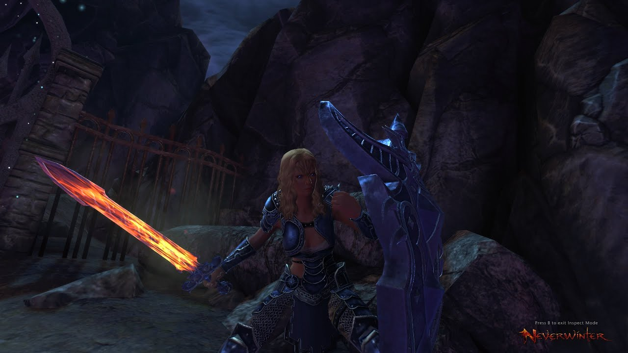 Neverwinter PvP Gameplay Online Female Oathbound paladin 2015 HD