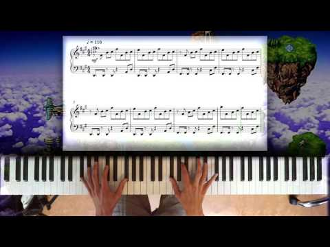 Chrono Trigger - Zeal (Corridors of Time) piano+sheet music