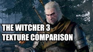 The Witcher 3 Texture Quality Comparison & Vram Usage