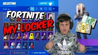 ΤΟ LOCKER ΜΟΥ ΣΤΟ FORTNITE /Famous Games