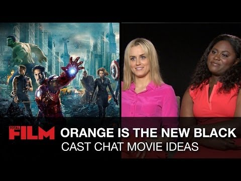 Orange Is The New Black Cast Chat Dream Movie