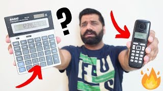 Smartphone - Telephone - Calculator | A Crazy Difference???
