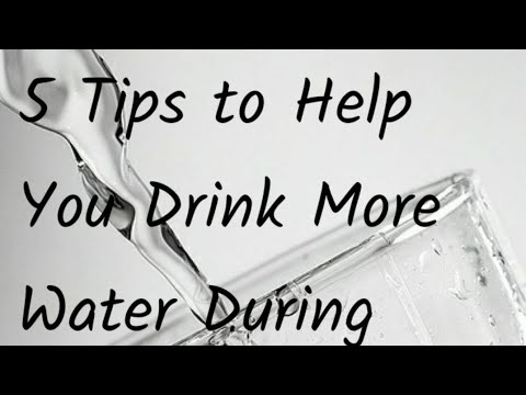 [5 Tips To Help You Drink Water During Pregnancy][Pregnant & Cant Drink Water]