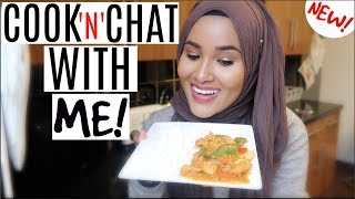 Cook With Me! | Peanut Butter Curry| Zeinah Nur
