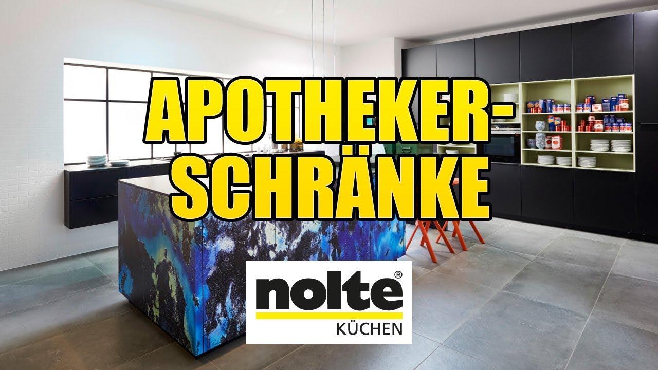 Nolte Küchen - Apothekerschränke [Montagevideo] - YouTube