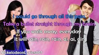 Victoria Justice & Max Schneider - Bruno Mars Medley (+ Lyrics)