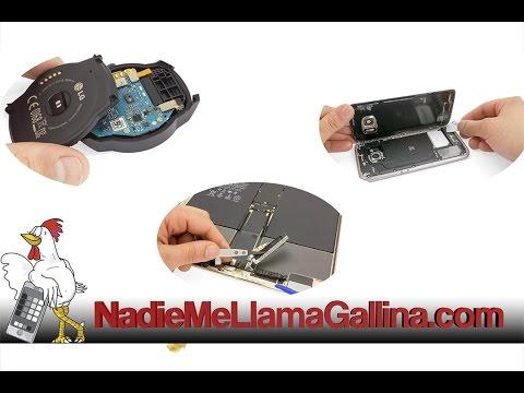 Guía del LG Optimus G (E975): Cambiar cables coaxiales de antena