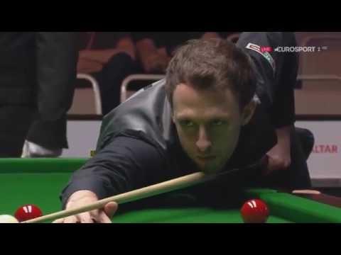 Snooker. Gibraltar Open 2017. Judd Trump - Jamie Curtis Barrett  (frame 1-4).