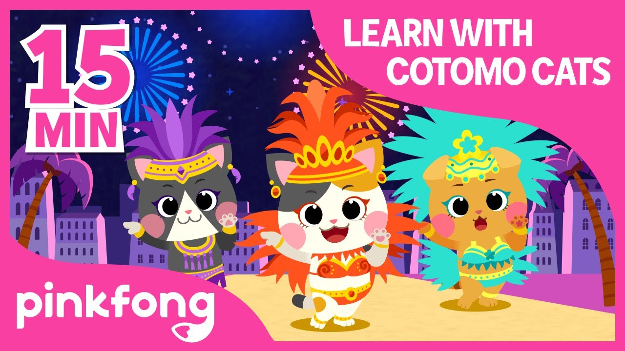Dance with COTOMO Cats and more | +Compilation | For Kids | Pinkfong Songs for Children