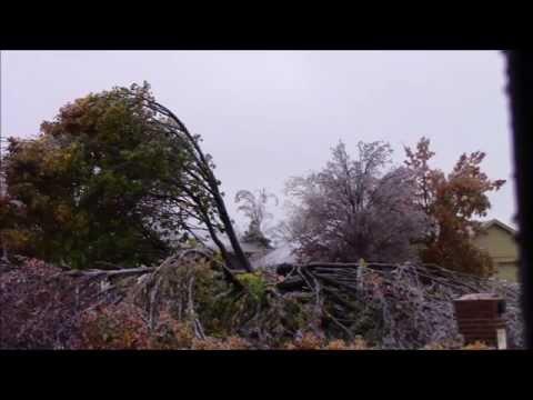 Edmond Oklahoma Ice Storm On November 28th 2015