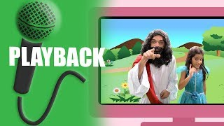 Teu Amigo Jesus - Yasmin Verissimo - Playback - Karaoke