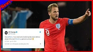 Breaking News-UFC have sent Harry Kane a brilliant tweet after his penalty appeals v Tunisia