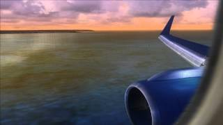 Boeing 757 landing @ Palma de Mallorca Airport [Jet2] [FS2004]