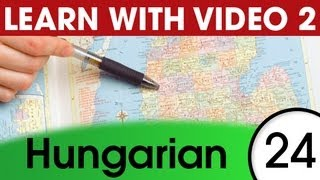Learn Hungarian Vocabulary with Pictures and Video - 5 Must-Know Hungarian Words 1