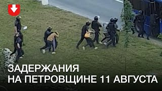 Задержания на Петровщине 11 августа