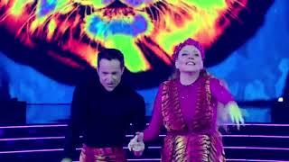 Carole Baskin dances tнe Paso Doble to