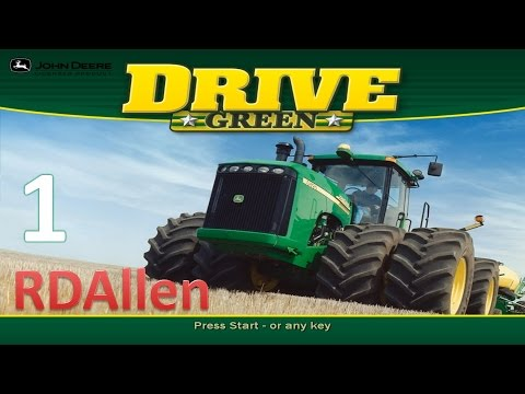 John Deere Drive Green E1 - Go Green or Go Home!