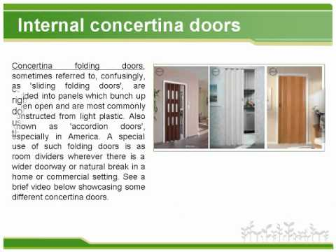 Interior Doors   The Basic Types