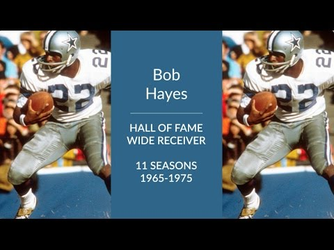Bob Hayes Hall of Fame Football Wide Receiver