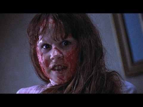 Head turning scene from The Exorcist