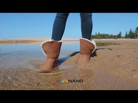 Ugg Boots In The Ocean