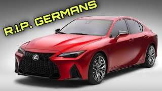 How Does the Lexus IS500 Stack Up Against Its German Rivals?