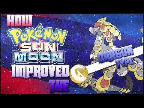 7 Ways Pokemon Sun and Moon Improved the Dragon Type