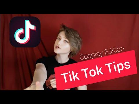 Tik tok Tips - Cosplay Edition - YouTube