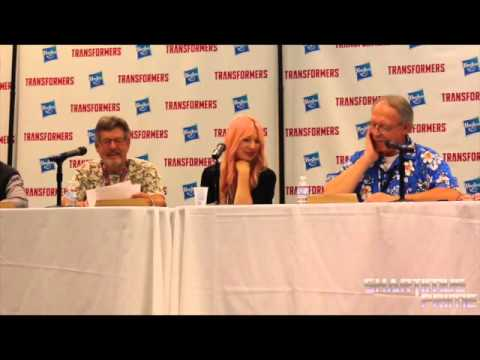 Botcon 2014 Transformers G1 Retro Panel Jack Angel, Hal Rayle, Samantha Newark, Michael McConnohie