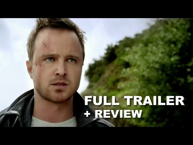 Need For Speed 2014 Official Trailer Trailer Review Aaron Paul