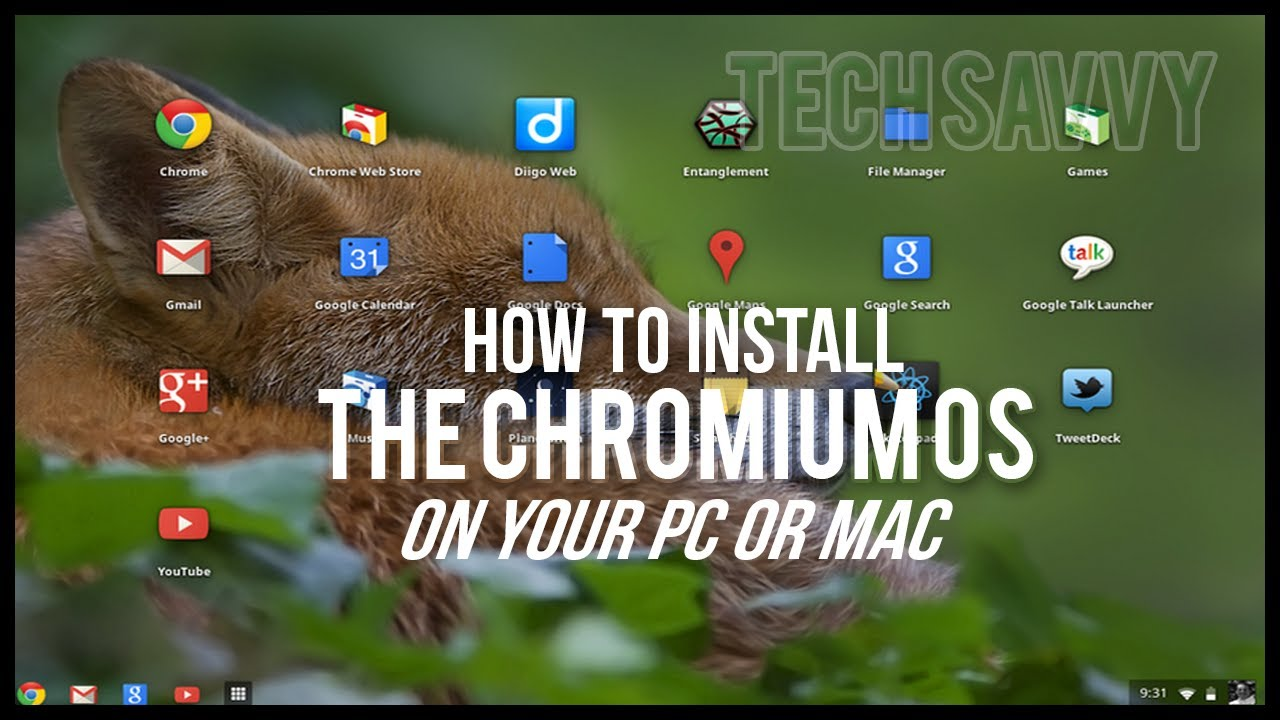 how to install the chromium os on pc or mac youtube. Black Bedroom Furniture Sets. Home Design Ideas