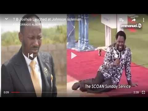TB Joshua mocked by Apostle Johnson Suleman