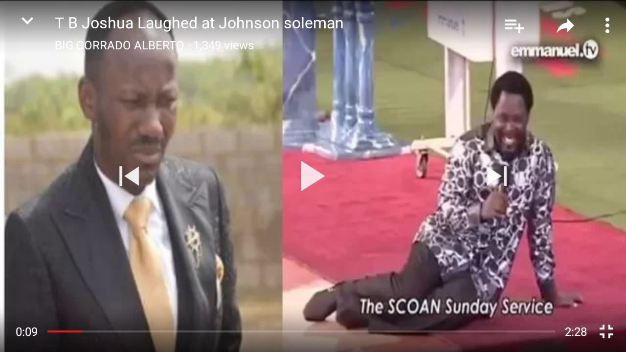 Download TB Joshua by Apostle Johnson Suleman