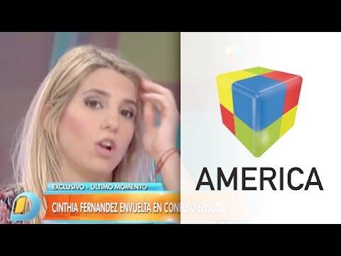 Intentaron abusar sexualmente a Cinthia Fernández en la puerta de una productora